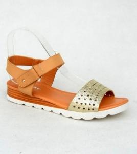 Дешевая обувь оптом - купить босоножки LY-53 CAMEL