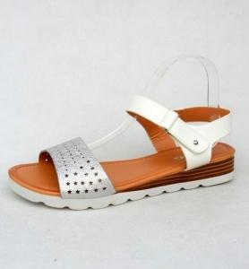 Дешевая обувь оптом - купить босоножки LY-53 WHITE
