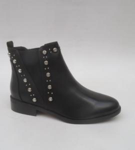 Женская обувь осень - оптом женские ботинки M275 BLACK
