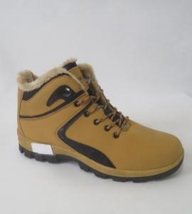 Мужская зимняя обувь оптом - мужские утепленые кроссовки M890-2 CAMEL