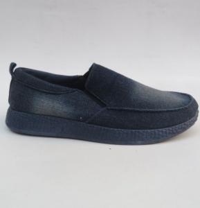 Мужские туфли оптом - джинсовые туфли HJ-2 NAVY