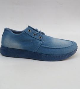 Мужские туфли оптом - джинсовые туфли мужские HJ-3 L.BLUE