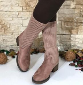 Женская обувь осень - оптом ботинки осенние nc102 pink