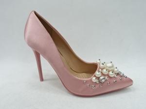 Туфли на шпильке оптом - модные туфли P-6349 PINK