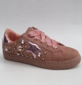 """Купить Кеды женские оптом - слипоны, криперы, эспадрильи Obuw R-8 PINK. Обувь оптом - """"Первый обувной"""""""