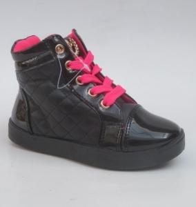 Обувь детская оптом - купить модные спортивные ботинки R16D-7 BLACK
