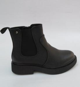 Женская обувь осень - оптом стильные молодежные ботинки SD706 BLACK