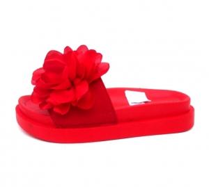 Дешевая обувь оптом - купить необычные шлепанцы AK04 RED
