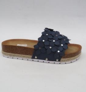 Дешевая обувь оптом - купить синие модные шлепанцы H27 BLUE