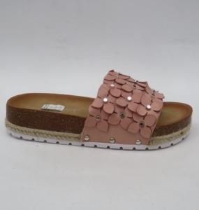 Дешевая обувь оптом - купить розовые летние шлепанцы H27 PINK