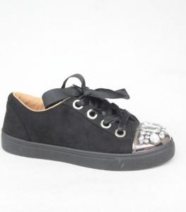 """Купить Кеды женские оптом - слипоны, криперы, эспадрильи Obuw 6192 BLACK. Обувь оптом - """"Первый обувной"""""""