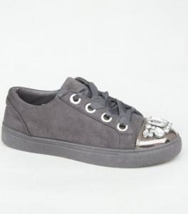 """Купить Кеды женские оптом - слипоны, криперы, эспадрильи Obuw 6192 GREY. Обувь оптом - """"Первый обувной"""""""