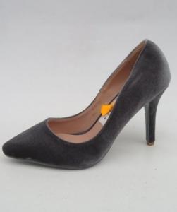 Туфли на шпильке оптом - туфли на шпильке B-6 GREY