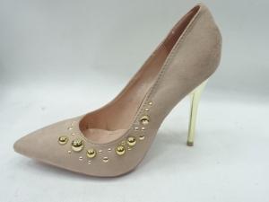 Туфли на шпильке оптом - классические туфли DD55 BEIGE