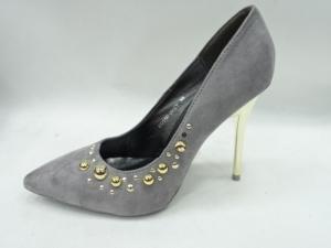 Туфли на шпильке оптом - супер туфли DD55 GREY