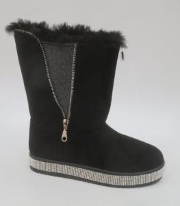 Купить оптом зимние теплые угги F501 BLACK - недорого в интернет-магазине 1shoes