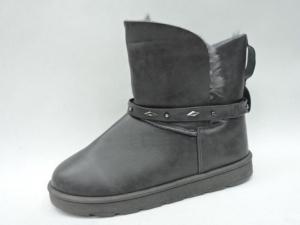 Купить оптом серые теплые угги W1005-1 GREY - недорого в интернет-магазине 1shoes