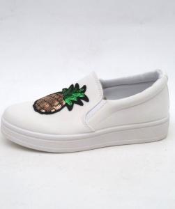 """Купить Кеды женские оптом - слипоны, криперы, эспадрильи Obuw V99-7 BIANCO. Обувь оптом - """"Первый обувной"""""""