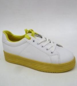 """Купить Кеды женские оптом - слипоны, криперы, эспадрильи Obuw W-68 YELLOW. Обувь оптом - """"Первый обувной"""""""
