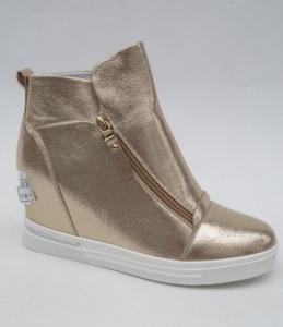 Сникерсы - оптом модные сникерсы X2099-16 GOLD