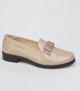 Женские туфли оптом - модные балетки X886 KHAKI