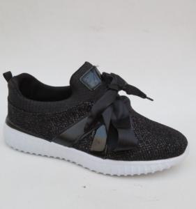"""Купить Кроссовки женские опт Fashion XF823-11 BLACK. Обувь оптом - """"Первый обувной"""""""