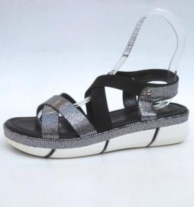 Дешевая обувь оптом - купить улетные молодежные босоножки XJX-01 SILVER