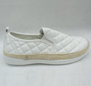 """Купить Кеды женские оптом - слипоны, криперы, эспадрильи Fashion YD-82 WHITE. Обувь оптом - """"Первый обувной"""""""