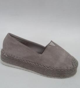 """Купить Кеды женские оптом - слипоны, криперы, эспадрильи Obuw YT-67 GREY. Обувь оптом - """"Первый обувной"""""""