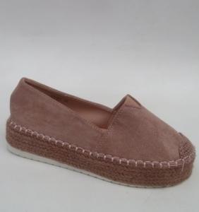 """Купить Кеды женские оптом - слипоны, криперы, эспадрильи Obuw YT-67 PINK. Обувь оптом - """"Первый обувной"""""""